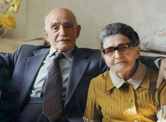 Петър Димков със съпругата си