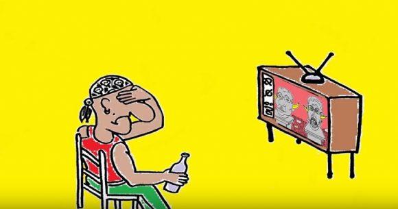 """Карикатура: Ник Попов, """"Обратен ефект"""""""