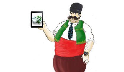 Карикатура: Webcafe.bg