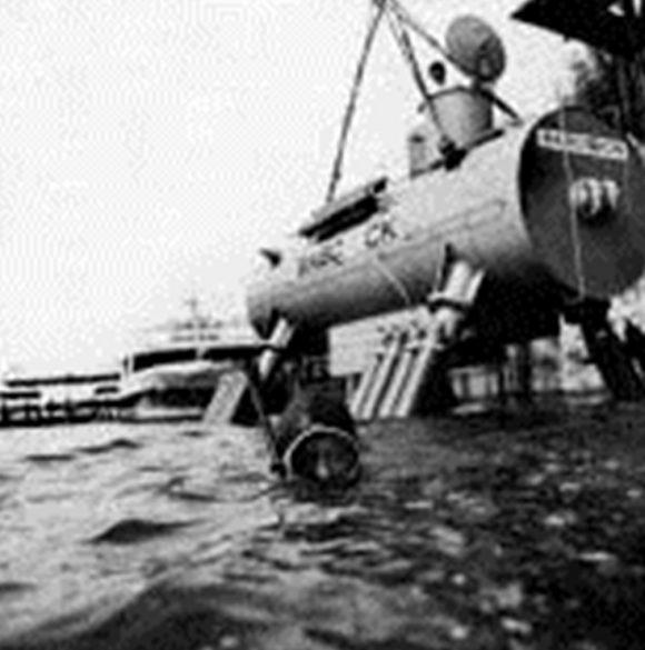 """Подводен дом """"BAH"""", ФРГ 1966 г."""