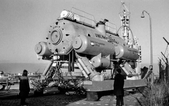 """Подводна лаборатория """"Helgoland"""", ФРГ, 1966 г."""