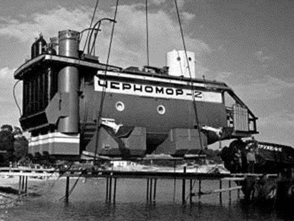 """Подводна лаборатория """"Черномор-2"""", Русия, 1969"""