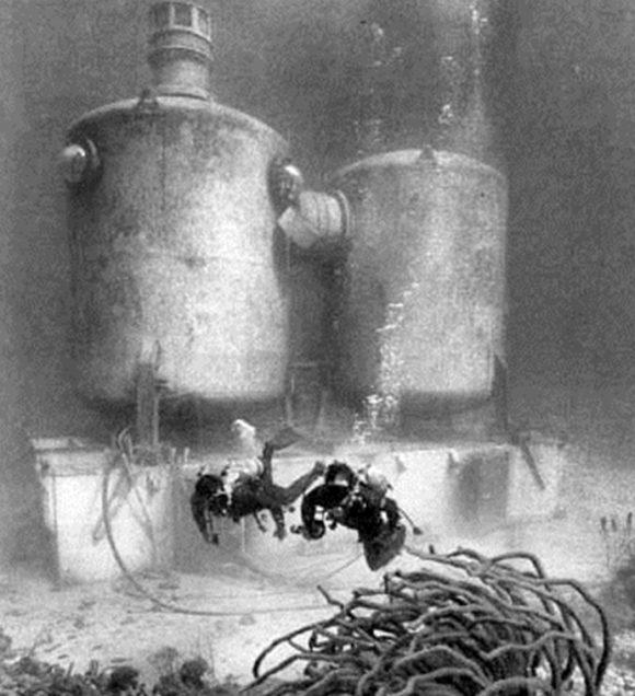 """Подводен дом """"Садко-3"""", Русия, 1968 г."""