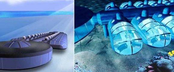 """Петзвезден хотел """"Poseidon"""" на о-в Eleuthera (Комплекс """"Тайнственият остров Посейдон"""", (Бахамски архипелаг, Атлантически океан)"""