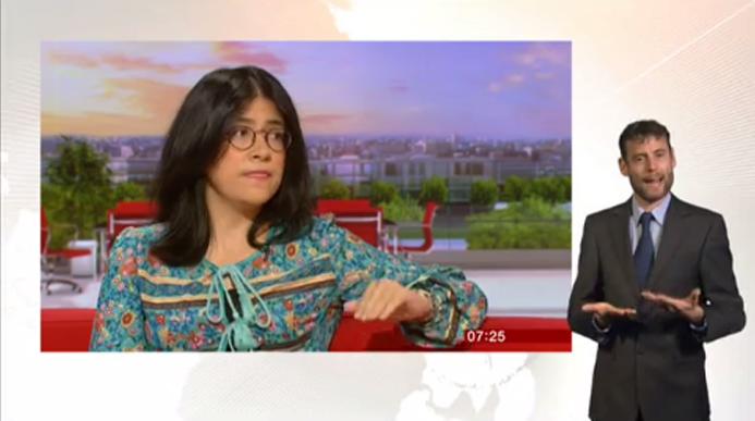 Maria Spirova in BBC Breakfast | The Bulgarian Media Portal in Chicago