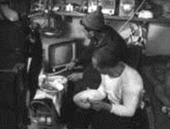 """Интериорът на подводен дом """"Diogen"""" Експериментът """"Precontinent-1"""", Франция 1962 г."""