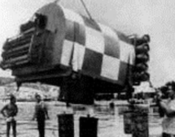 """Подводен дом """"Meduza"""" - Полша, 1966 г."""
