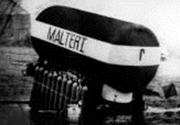 """Подводен дом """"Malter-1"""", ГДР, 1966 г."""