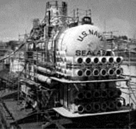 """Подводна лаборатория """"Sealab-3"""" в сухия док"""