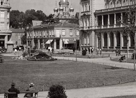 "Кафене ""Цар Освободител"", 30-те години на ХХ век"