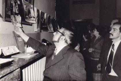 Събиране на фотожурналисти в Клуба на СБЖ, 1979 г. Снимка: Рhotoarhiv-todorslavchev.com